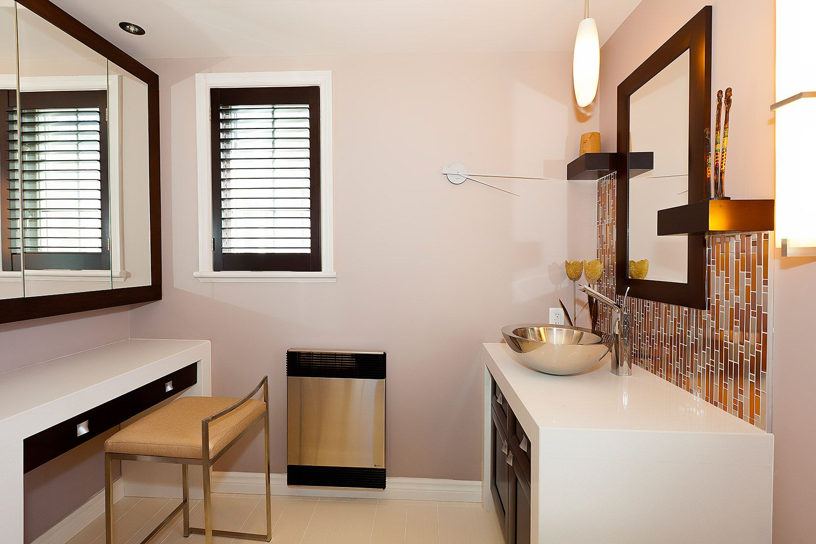 Salle de bains contemporaine griffe cuisine for Salle contemporaine