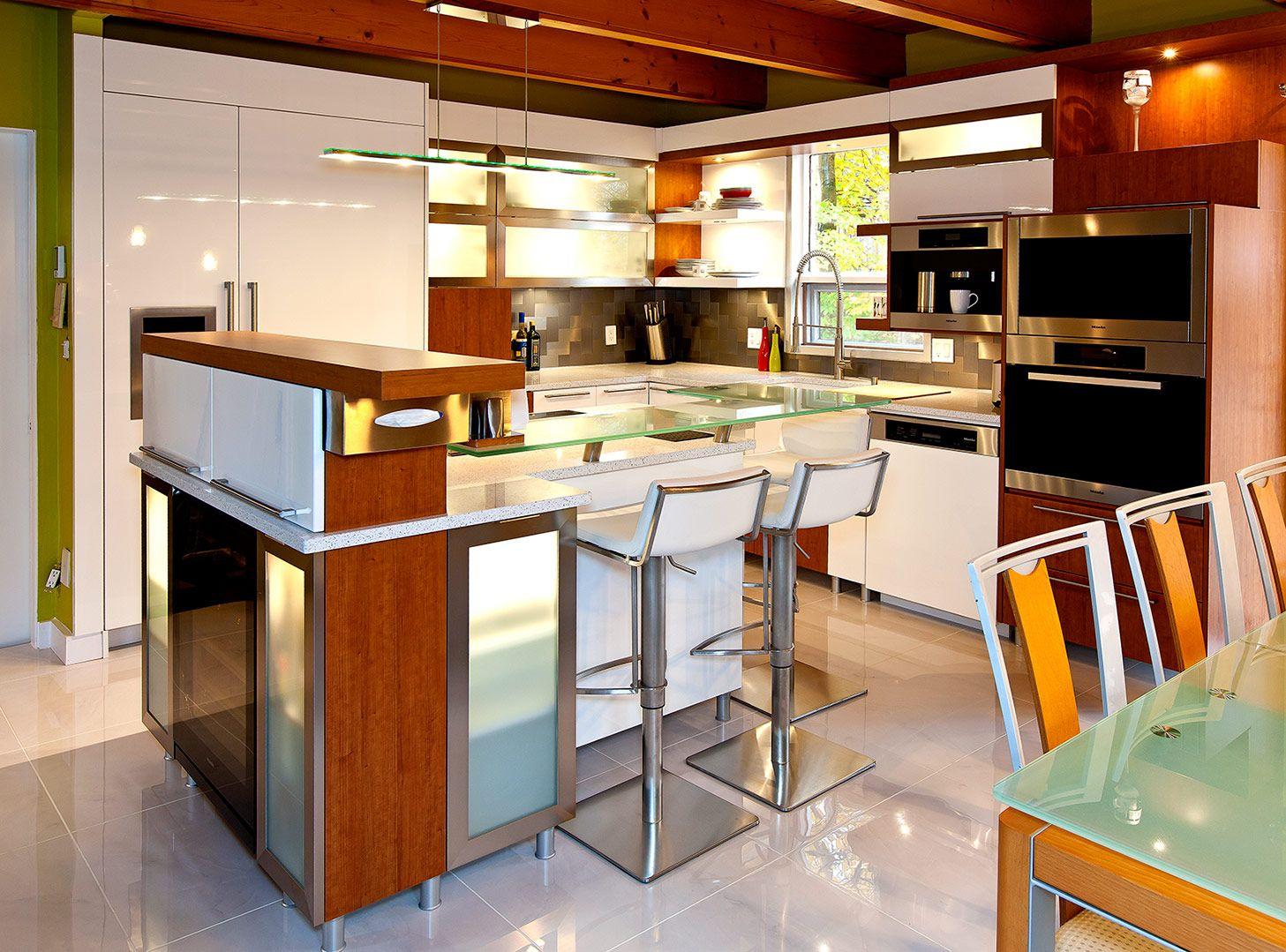 Cuisine moderne griffe cuisine for Cuisine moderne en bois 2014