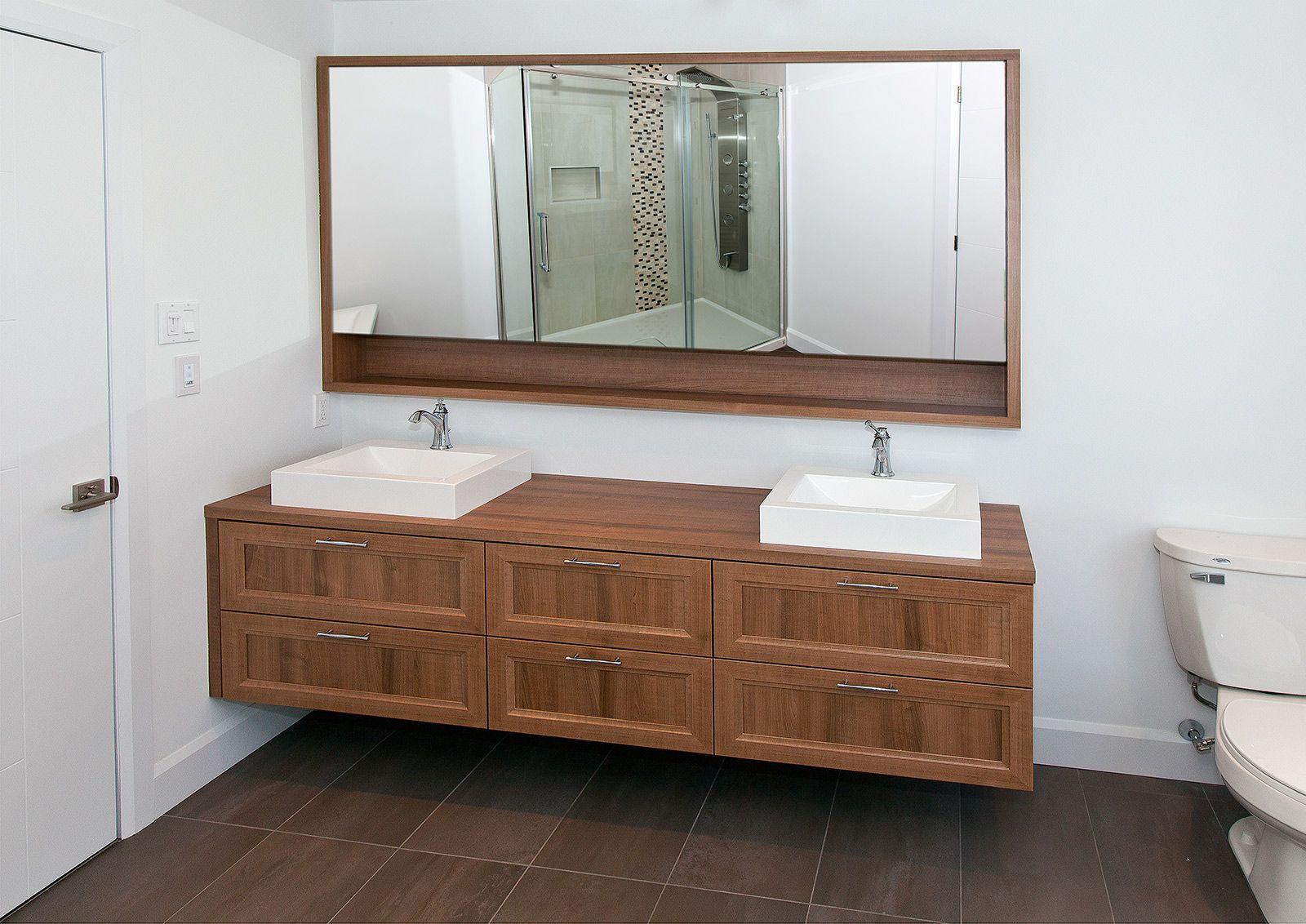 Salle de bains contemporaine griffe cuisine for Salle de bain x2o tournai