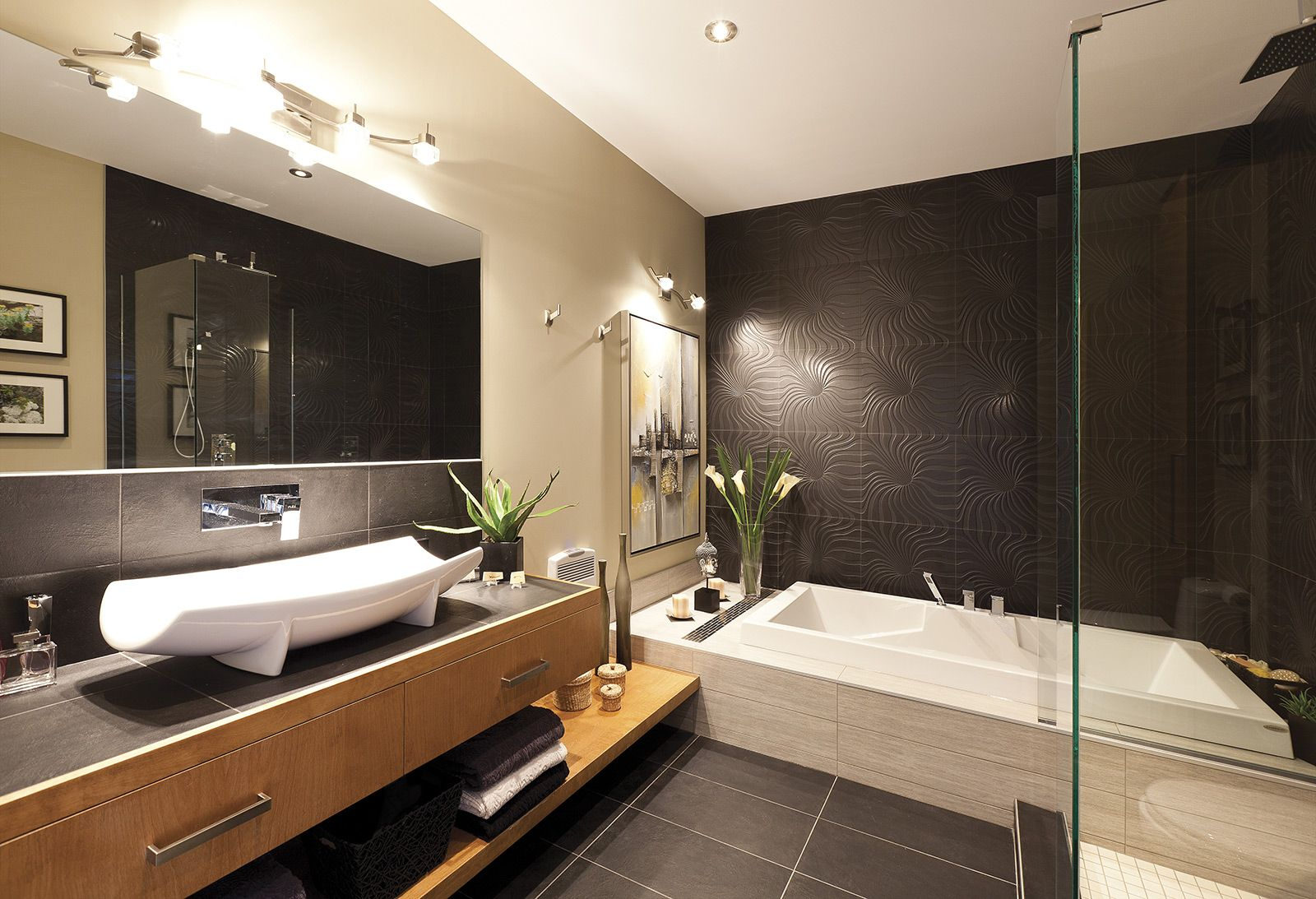 ceramique bois salle de bain. Black Bedroom Furniture Sets. Home Design Ideas