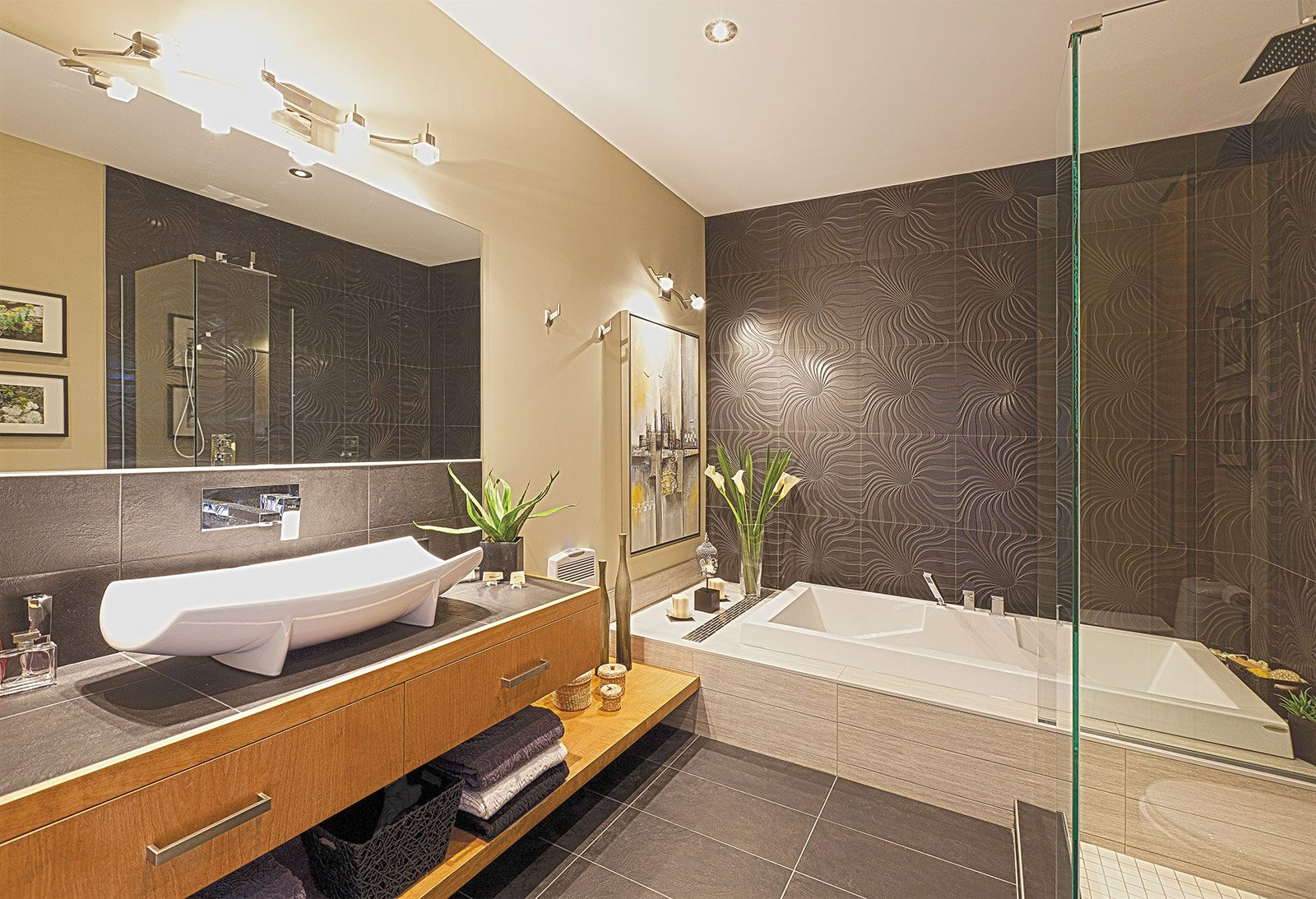 Idee renovation cuisine decoration amenagement renovation for Idee amenagement salle de bain