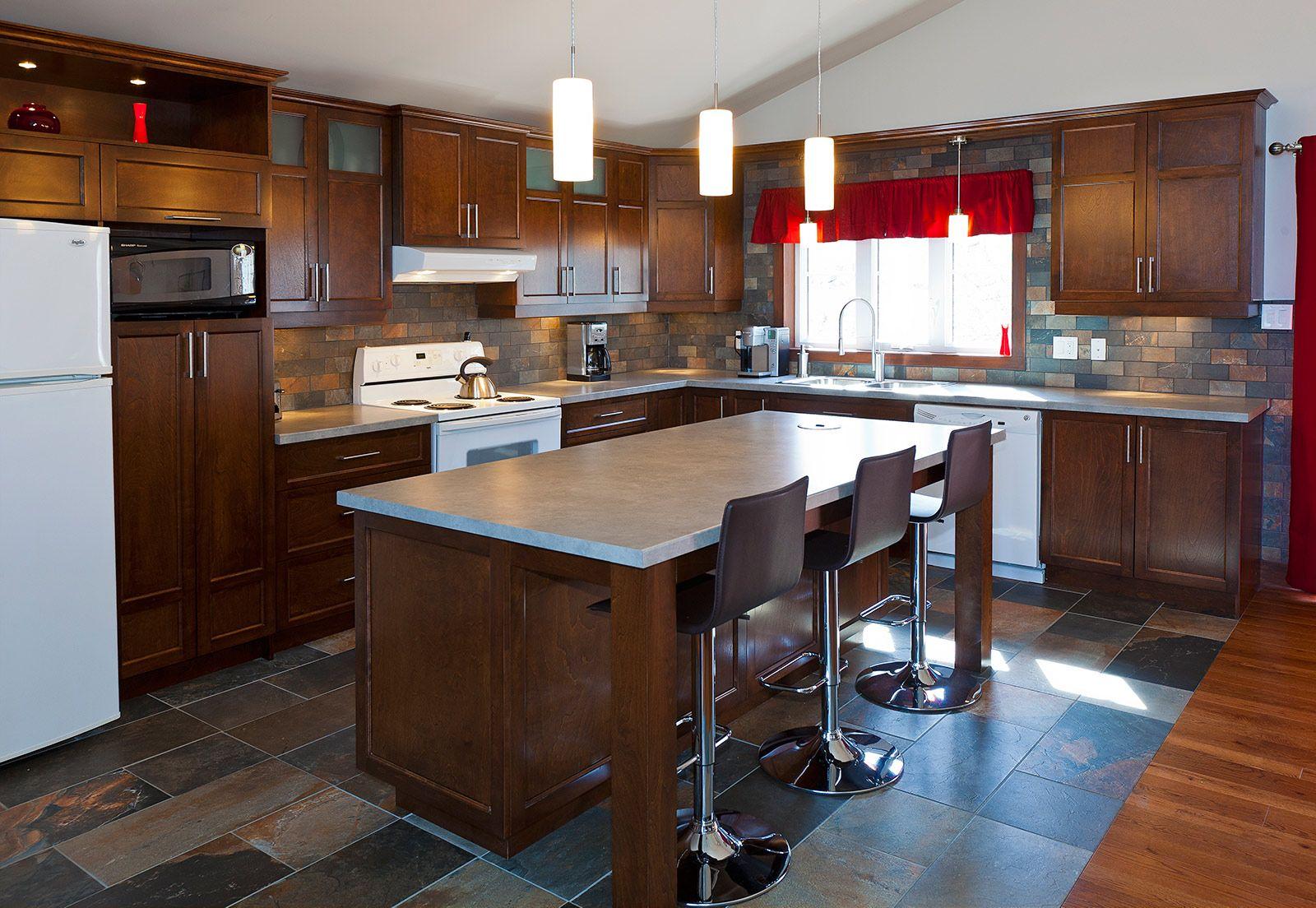 Cuisine comptoir cuisine ouverte avec comptoir cuisine en for Comptoir cuisine ouverte