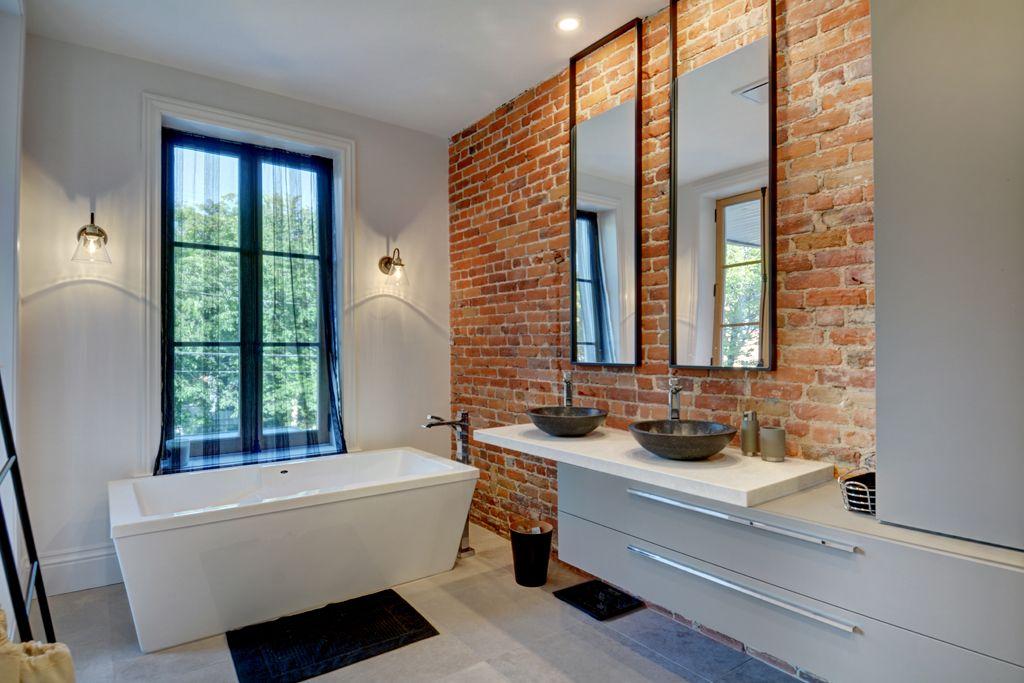 Salle de bains moderne - Griffe Cuisine
